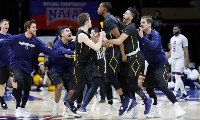 """Illustration for article titled """"Have Mercy!"""" Graceland Wins NAIA Championship At The Buzzer"""
