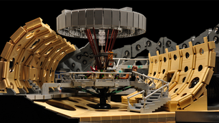 Illustration for article titled Holy Crap, This Lego TARDIS Console Room Is Magnificent