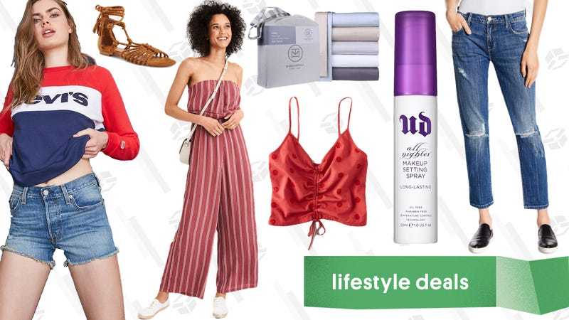 Illustration for article titled Thursday's Best Lifestyle Deals: Bed Sheets, Urban Decay, American Eagle, and More