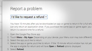 Illustration for article titled You Can Still Get a Refund From Google Play After the 15 Minute Window