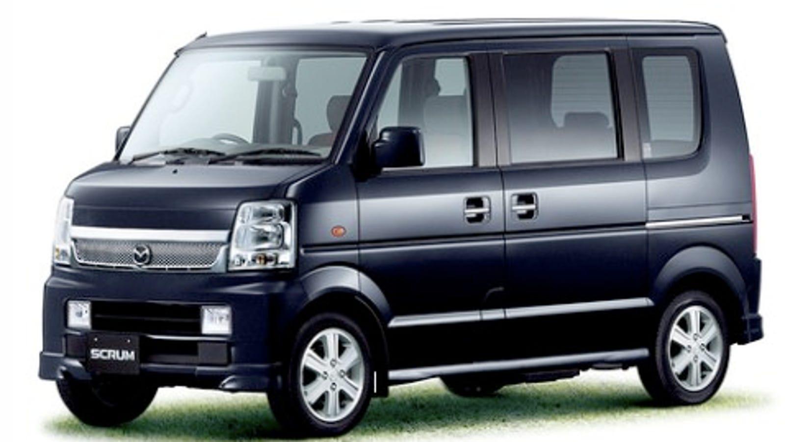 1c7f856aeb3018 Mazda Reveals Updated Scrum Vans