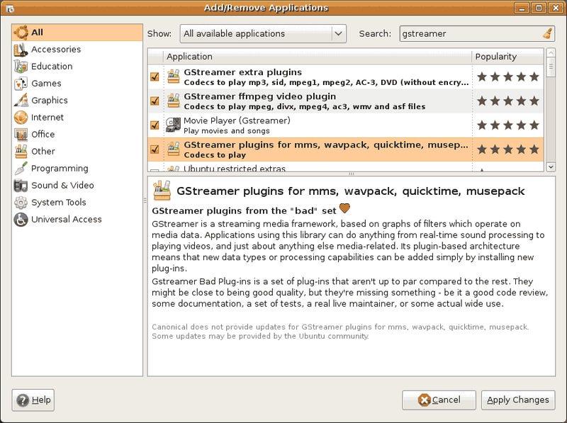More Ubuntu Kung Fu