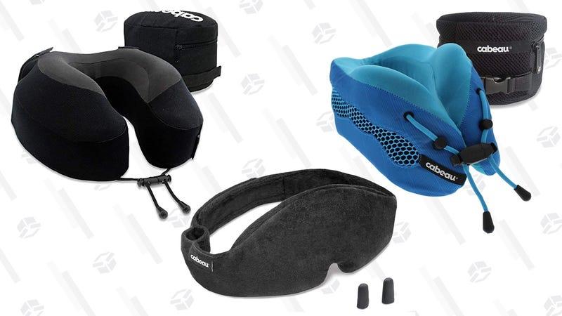Cabeau Evolution S3 Travel Pillow | $30 | AmazonCabeau Evolution Cool Travel Pillow | $45 | AmazonCabeau Midnight Magic Adjustable Sleep Mask | $15 | Amazon