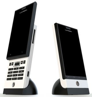 Illustration for article titled Ultra-Stylish T1, S1 and E1 Phones From Lumigon Promise European Class and Android 2.1