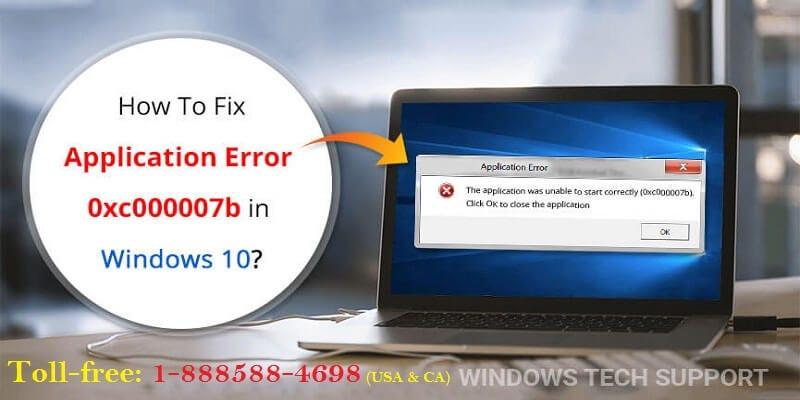 error 0xc00007b windows 10 2018