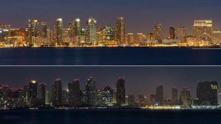 Illustration for article titled How San Diego Looks With the Lights Turned off
