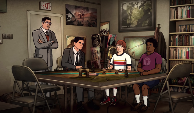 Archer Threatens His Fellow Nerds and Fights Climate Change in an Explosive Season 12 Trailer