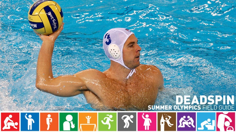 Illustration for article titled Olympics Field Guide: Peter Hudnut, Water Polo's Comeback Kid