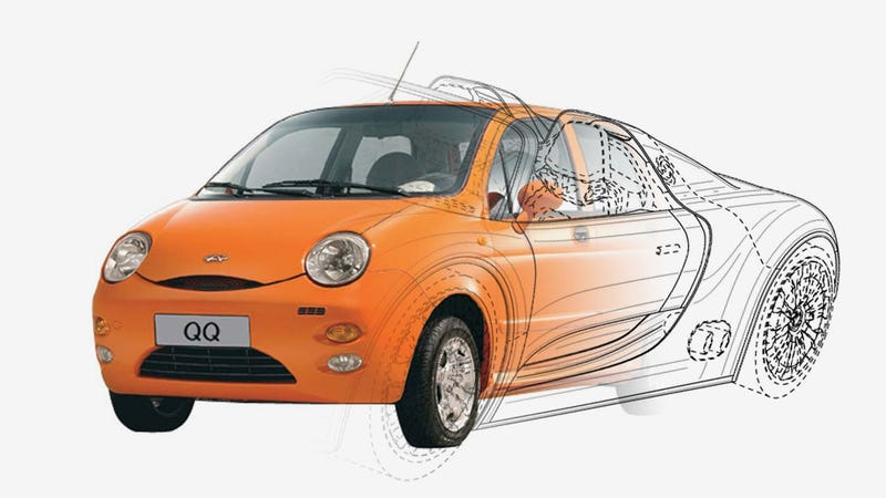 Illustration for article titled China's Chery Imports An Ex-Porsche Designer To Design Their Cars