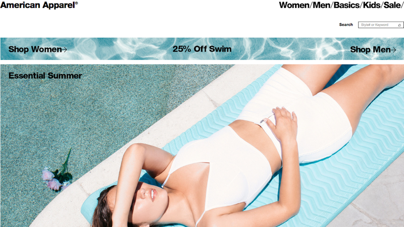 All American Apparel swimwear, 25% off with code SWIM25