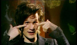 Illustration for article titled Matt Smith rocks the effing house with his own theme song