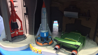 Illustration for article titled London Toy Fair Gives A First Look At Thunderbirds' Sweet New Rides
