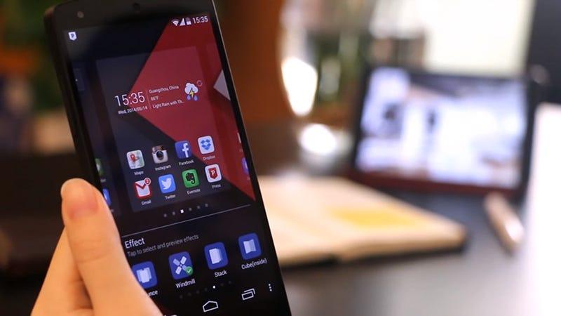 Illustration for article titled Sietelauncherspara Android que transformarán por completo el aspecto de tu teléfono
