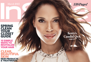 Kerry Washington on the cover of the March 2015 issue of InStyle magazineInStyle