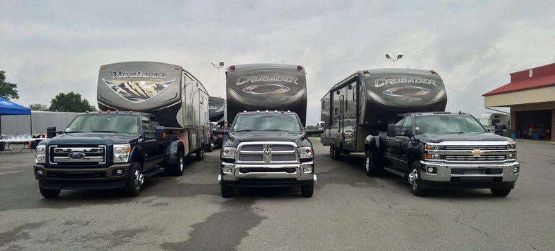Illustration for article titled How To Choose Between Ford, Chevrolet, & Ram