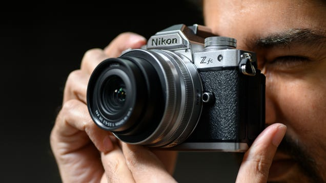 The Nikon Z FC Is a Slick Mirrorless Cam With a Stylish Retro Design