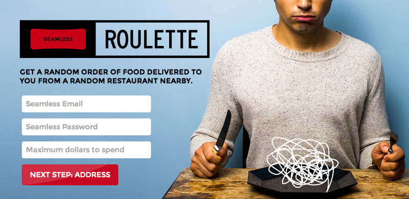 Illustration for article titled Seamless Roulette Is the Best, Most Terrifying Thing to Happen to Lunch