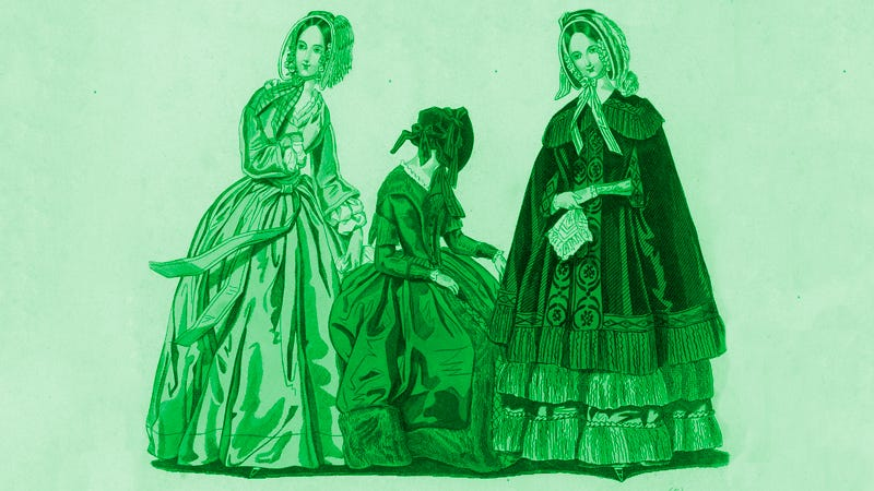 Illustration for article titled The Arsenic Dress: How Poisonous Green Pigments Terrorized Victorian Fashion