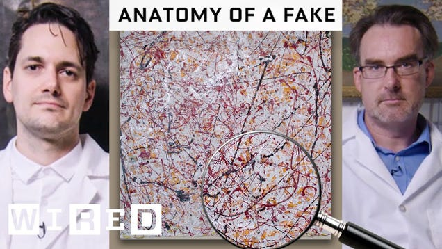 How Experts Spot Forged Paintings