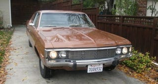 Illustration for article titled For $12,500, This 1973 AMC Matador Is Good Enough For Government Work