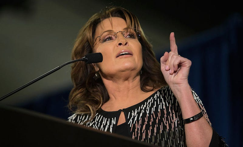 Illustration for article titled Sarah Palin Instructs Americans to Respect 'Rule of Law,' Conveniently Forgets Son's Arrest