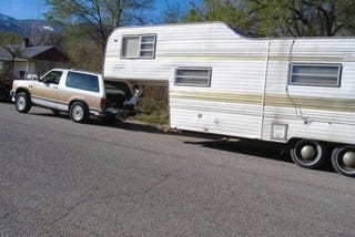 Difference In Towing A Travel Trailer Between F  And F