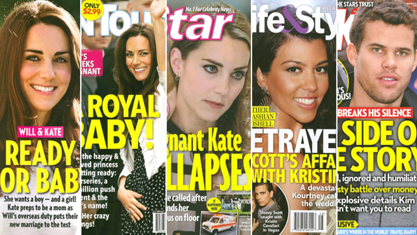 This Week In Tabloids: Kate Middleton Faints From Carrying ...