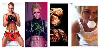 """Illustration for article titled MMA Star Says Mortal Kombat Likeness """"Cannot Be A Coincidence"""""""