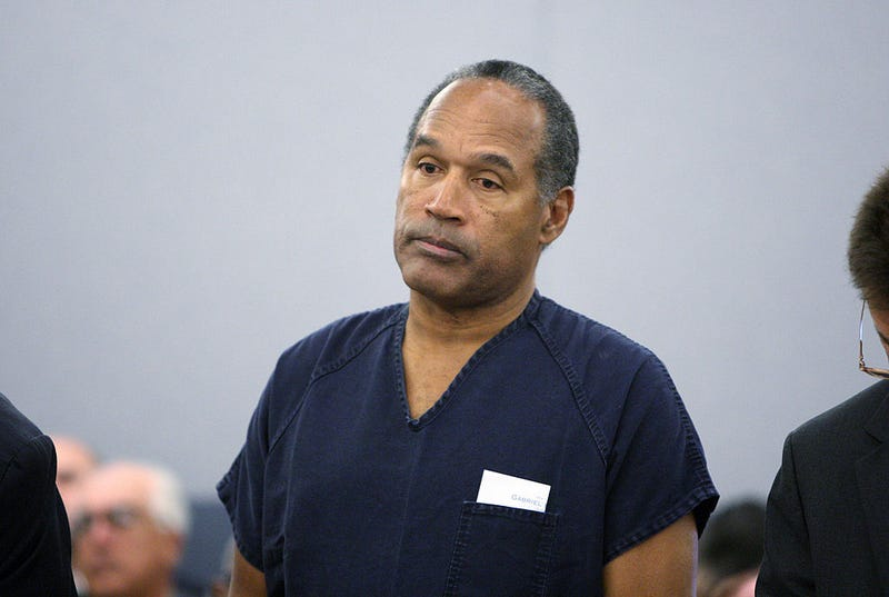 OJ Simpson granted parole in Nevada robbery