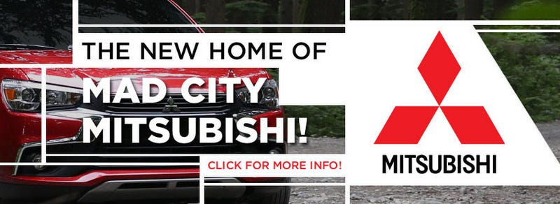 Illustration for article titled Oddly enough, a local car dealership is getting *IN* to the Mitsubishi business