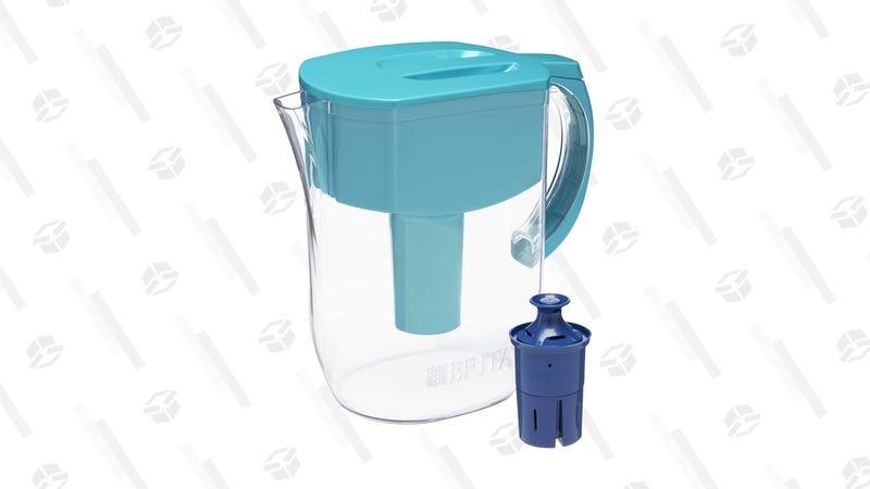 Brita Large Everyday Water Pitcher (Black, White, or Turquoise) | $24 | Amazon