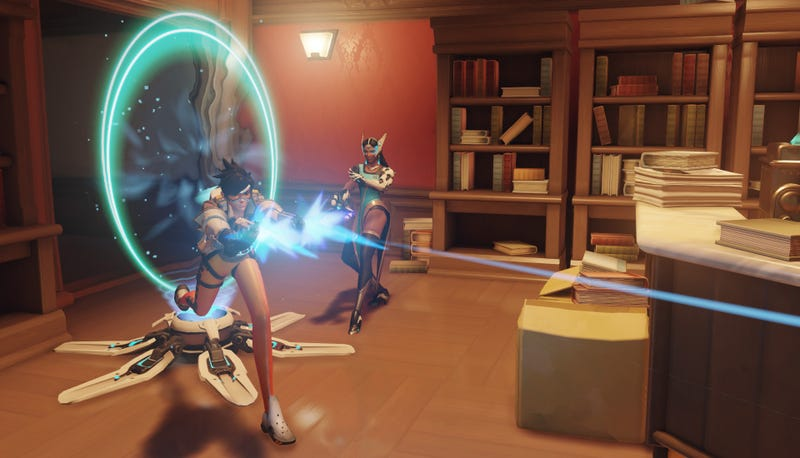 Illustration for article titled Overwatch Player Dies Twice During Play Of The Game