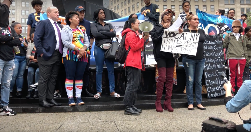 Activists Gather for Rally Calling for Justice for Layleen Polanco
