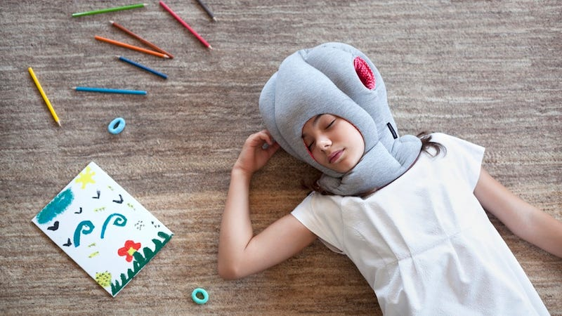 Illustration for article titled Nap-Anywhere Ostrich Pillow Does Away With Kids' Napping Woes, Friends