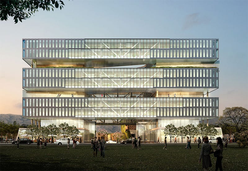 Illustration for article titled Samsung's New R&D Office Will Be a San Jose Beacon