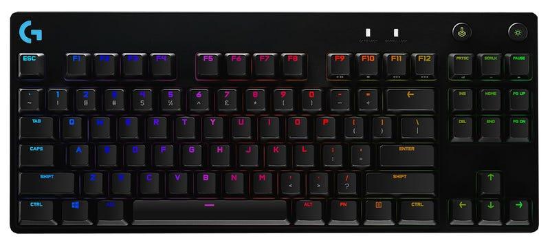 Illustration for article titled El nuevo teclado mecánico de Logitech permite cambiar el interruptor de cada tecla en caliente