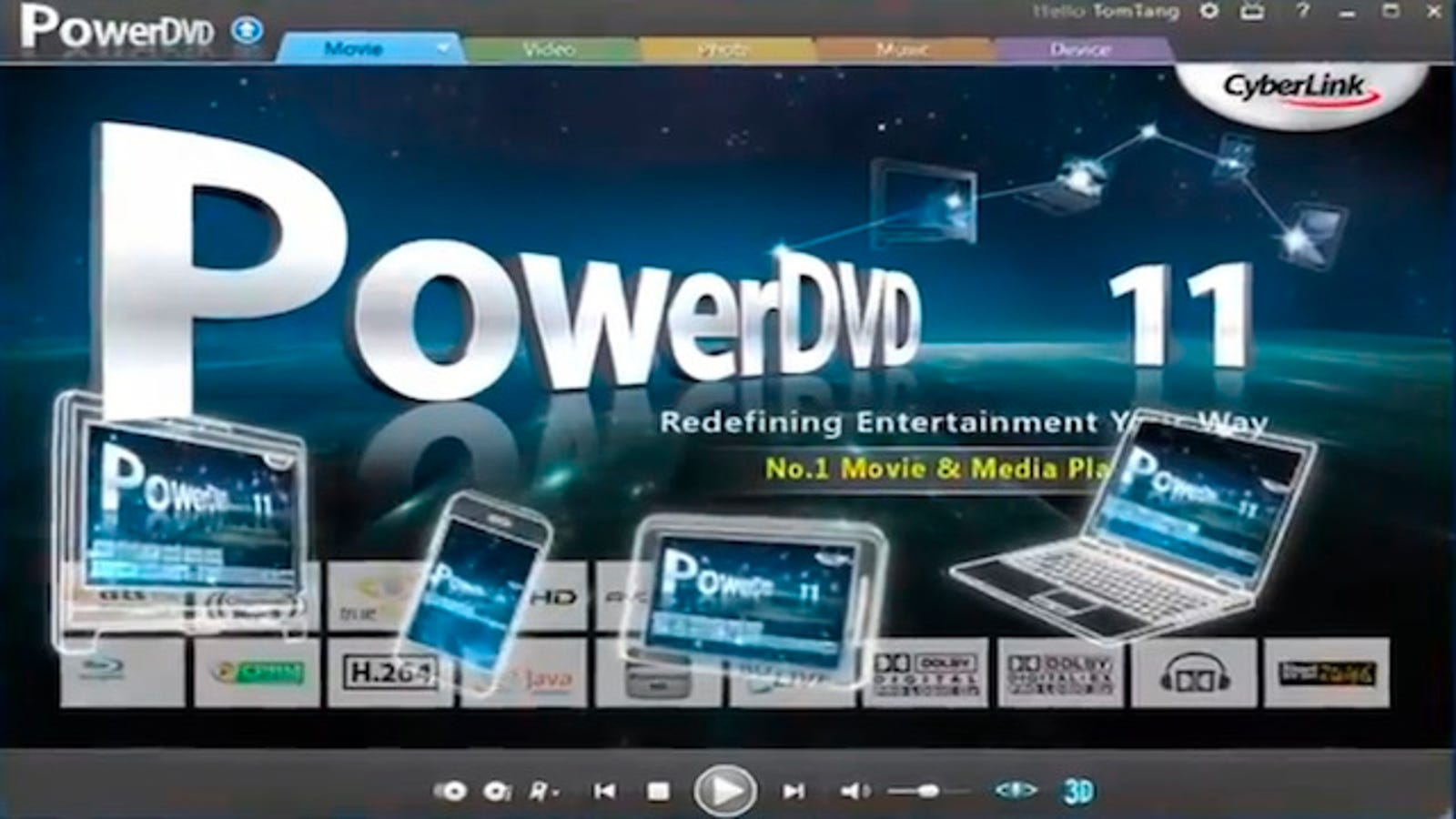 windvd 12 media not supported
