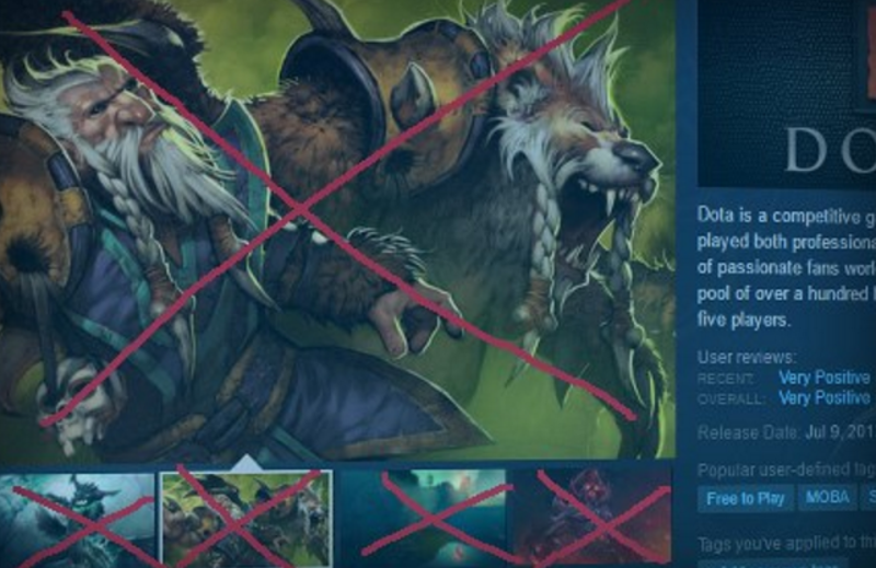Illustration for article titled Steam Bans Misleading Store Page Screenshots