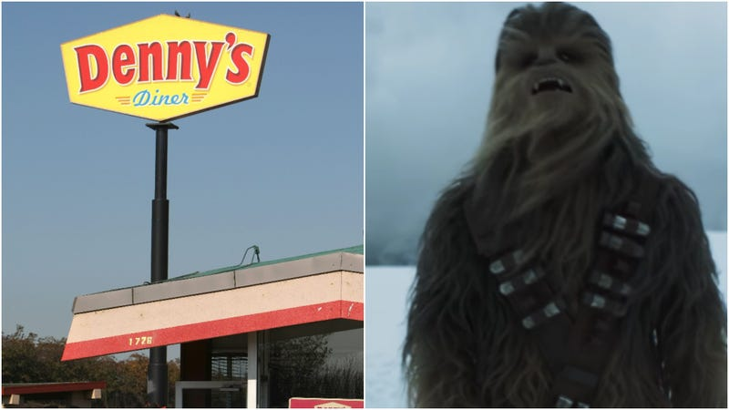 Illustration for article titled With Denny's Star Wars-themed breakfast, there is no try