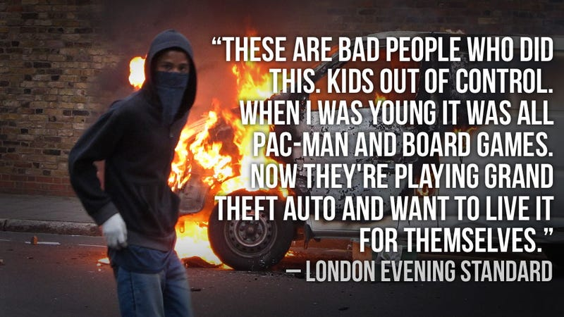Illustration for article titled London Riots Inspire Fresh Grand Theft Auto Finger Pointing