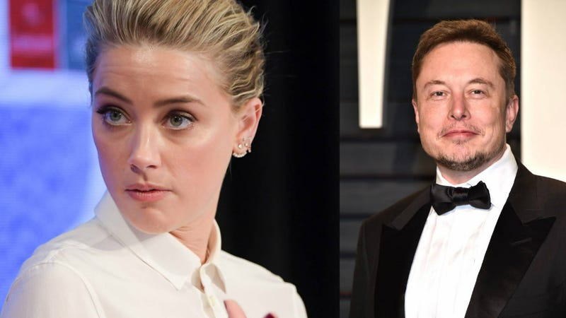 photo image What Is Going On With Amber Heard and Elon Musk?