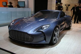 Illustration for article titled Mystery Man Buys Ten Aston Martin One-77s
