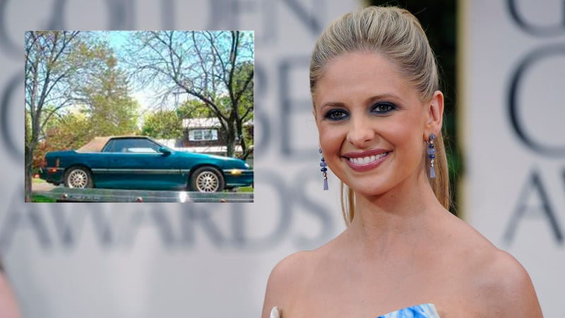 Illustration for article titled Want To Buy Sarah Michelle Gellar's Chrysler LeBaron?