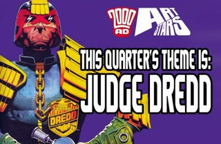 Illustration for article titled Quick draw for Dredd-full art contest