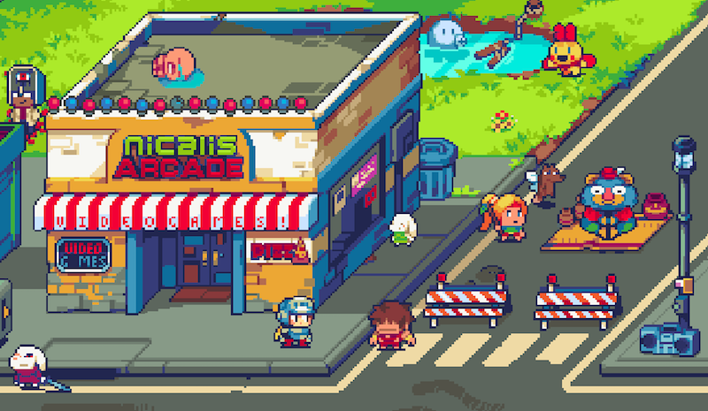 Art from the website of indie game publisher Nicalis