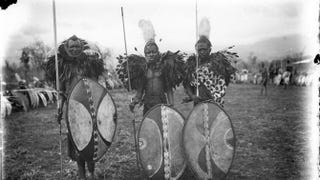 Masai warriors in German East Africa, circa 1906-1918Wikimedia Commons
