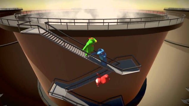 Gang Beasts, The Slapstick Fighting Game I Once Watched Take Over An Entire Festival, Is Out Of Earl