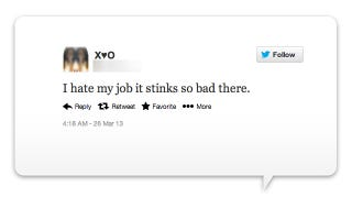 FireMe!: A Running List of People Tweeting How Much They Hate Their Jobs