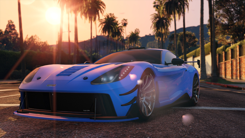 Illustration for article titled GTA Online's Expensive New Car Doesn't Handle Well