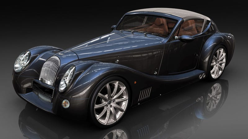 Illustration for article titled Electric Morgan will be an e-roadster with a manual transmission